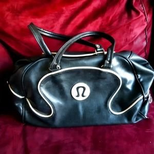 Lululemon gym/carry-on bag